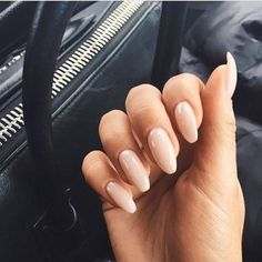 36 Neutral Nail Colors that Pair With Any Outfit - Neutral Nails - Hair And Nails, My Nails, Long Nails, Neutral Nail Color, Nail Colors, Neutral Outfit, Sinful Colors, Pink Color, Colour