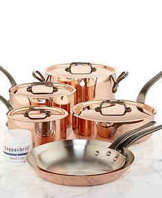 Mauviel Copper Cookware, 10 Piece Set - Cookware - Kitchen - Macy's