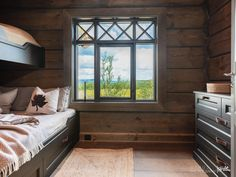 office decor Newly built lovely cottage with great and attractive location. Rolling Drawers, Cozy Cabin, Winter Cabin, Bed Plans, Kitchen On A Budget, Rustic Elegance, Modern Kitchen Design, Log Homes, Home Accents