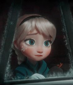 Disney - All Things Geeky — It's like the snowflake is a tear, rolling off her Disney Babys, Disney Rapunzel, Disney Frozen Elsa, Baby Disney, Disney Princess Pictures, Disney Princess Quotes, Little Disney Princess, Cute Disney Wallpaper, Cute Cartoon Wallpapers