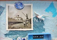 mano kellner, project 2015, kunstschachtel/art box nr 20/2015, marine - detail - (sold)