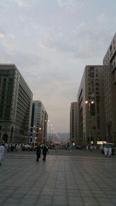 Streets of madinah#outside#haram