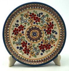 "8.5"" Salad Plate Ruby Duet"