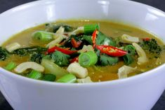 Cure a cold spicy soup - great for when your immune system needs a little support