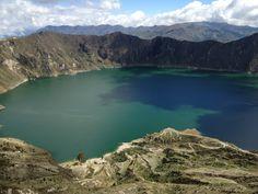 Laguna y Crater Quilotoa, Ecuador