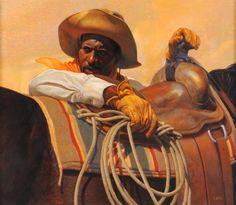Thomas Blackshear Golden Breeze Anniversary Edition featuring the complete Thomas Blackshear collection. View images from the Thomas Blackshear Gallery. We are an Authorized Dealer for the African American Art of Thomas Blackshear African American Artist, American Artists, African Art, Native American, Monuments, Thomas Blackshear, Black Cowboys, Real Cowboys, Cowboy Art