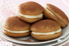 Cappuccino Whoopies (recipe in Italian and English on my BLOG).