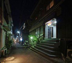 夜散歩のススメ「荒木町 柳新道通り」東京都新宿区荒木町