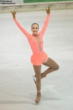 figure skating - Bavarian Open 2013. I want that costume, but maybe in a different colour