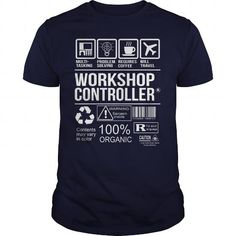 Awesome Tee For Workshop Controller T Shirts, Hoodies. Check price ==► https://www.sunfrog.com/LifeStyle/Awesome-Tee-For-Workshop-Controller-108374103-Navy-Blue-Guys.html?41382