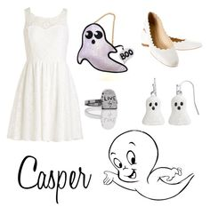 """Casper the Friendly Ghost"" by krusi611 ❤ liked on Polyvore featuring Chloé"