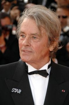 Alain Delon was born in NOVEMBER 8TH 1935;  HE IS 79 YEARS OLD