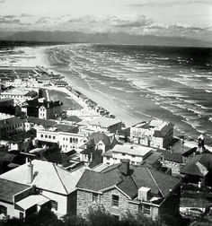 Muizenberg 1960 | Flickr - Photo Sharing! Nordic Walking, Cape Town South Africa, Airplane View, Old Things, Explore, History, City, Places, Southern