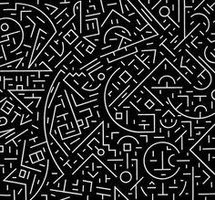 80´s pattern