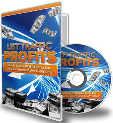 List Traffic Profits (10 Videos) http://www.plrsifu.com/list-traffic-profits-10-videos/ Audio & Video, eBooks, Give Away, Marketing eBooks, Master Resell Rights, Private Label Rights, Video #Traffic List building is the process of building a mailing list and this is something that any business or marketer should be adept in. So exactly is a mailing list? That would be a collection of e-mails that you will acquire through a website and/or