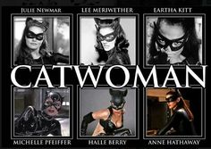Who's your favorite Catwoman? I like Eartha Kitt.