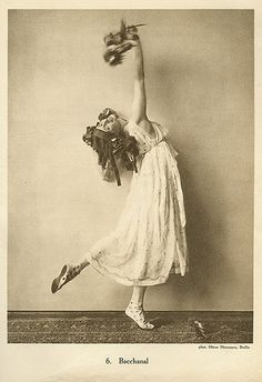 Anna Pavlova vintage ballet ballerina photo by ilyaballet, via Flickr