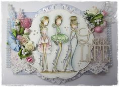 I hope you are all well and enjoying your week. I have certainly been busy this week creating but cannot show you them y. Digi Stamps, Little Darlings, Diy And Crafts, Card Making, Dress Up, Scrapbook, Embroidery Ideas, Diy Wall, Create
