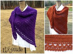 Wrapped in Warmth Shawl by ELK Studio #crochet #shawl FREE until 1/03/15 at 2 pm CST so HURRY!