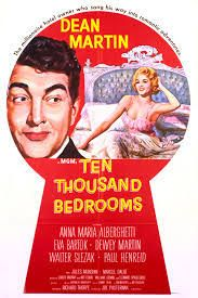 "Anna Maria Alberghetti and Dean Martin in ""Ten Thousand Bedrooms,"" 1957"