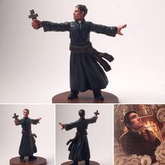 Father Mateo from edition by One of three priests I finished this weekend. Board Game Geek, Board Games, T Games, Mini Paintings, Tabletop Games, Cthulhu, Cool Art, Images, Father