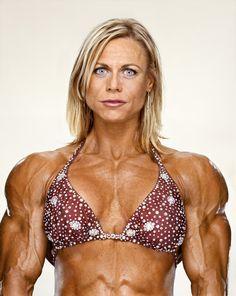 women body builder