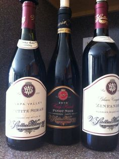 Tasted: A Trio of V. Sattui Winery Wines