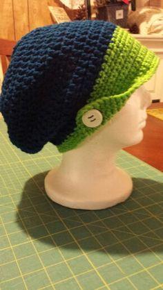 Seahawk brim hat