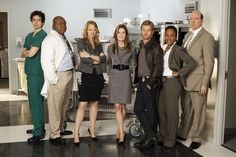 Body of Proof  Still of Dana Delany, John Carroll Lynch, Jeri Ryan, Geoffrey Arend, Nicholas Bishop, Sonja Sohn and Windell Middlebrooks in Body of Proof