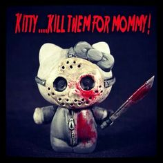 Friday the 13th HelloKitty  Scary
