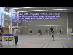 Evolution d'un entrainement (circuit manchette, défense, exercice sur at...