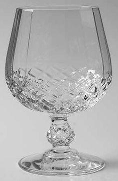 Cristal D'Arques Longchamp - Brandy Glass