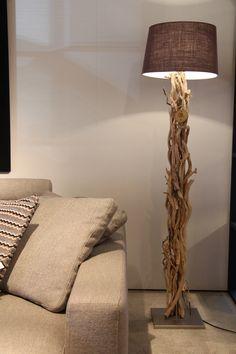 OBLONG DRIFTWOOD TABLE LAMP 249