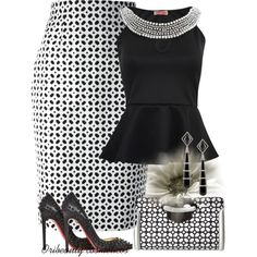 """""""Black & White"""" by oribeauty-cosmeticos on Polyvore"""