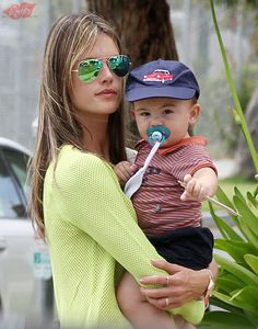 Alessandra Ambrosio takes her son Noah to the doctor in Santa Monica (May 8)