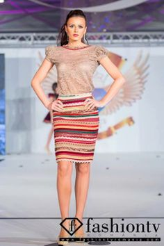 "Miky Design by Mihaela Istratescu 's collection ""I'm not famous but I'm Aromanian"" at Bucharest Fashion Week winter 2013  https://www.facebook.com/pages/Miky-Design-by-Mihaela-Istratescu/273225932730913"