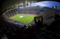 20 años del primer mosaico el Camp Nou del FC Barcelona 08/03/2012