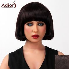 Sophisticated Full Bang Silky Straight Bob Cut Capless Human Hair Wig For Women #>=#>=#>=#>=#> Click on the pin to check out discount price, color, size, shipping, etc. Save and like it!