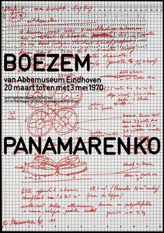 Jan van Toorn, Boezem Panamarenko Van Abbemuseum Eindhoven, 1970