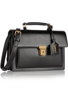 Saint Laurent | High School medium leather shoulder bag | NET-A-PORTER.COM