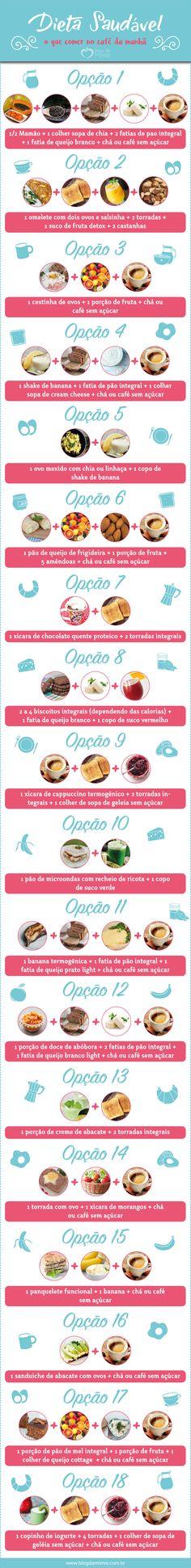 Dieta saudável: o qu