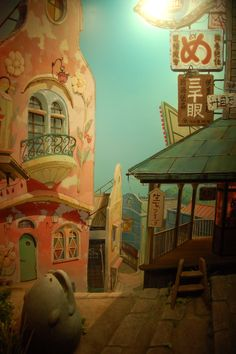 Ghibli museum…the way to 油屋 by 千と千尋の神隠し