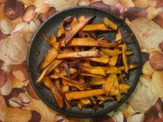 Receptes de #castanyada - moniato fregit de @Matar el Cuc