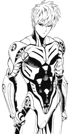 Genos - One punch man Saitama One Punch Man, Anime One Punch Man, One Punch Man 3, Opm Manga, Manga Anime, Anime Art, Beyblade Characters, Anime Characters, Ghost In The Shell
