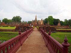 Dawn of Happiness - Ancient city of Sukhothai, Thailand. #sukhothai #thailand