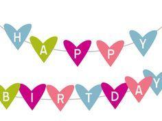 Free Printable Happy Birthday Banner Archives - Karen Cookie Jar