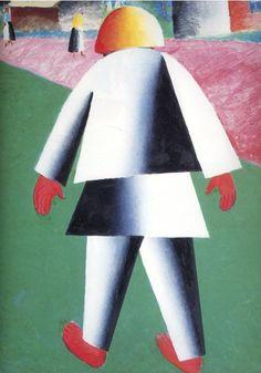 Kazimir Malevich (Russian, 1879-1935) - Boy, 1928-1932