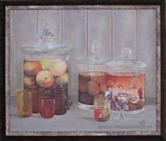 Mooi schilderij van Irma Wisman. www.irmawisman.nl.