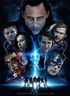 Beautiful Avengers poster