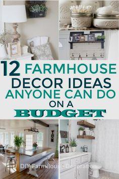 DIY Easy and Great Farmhouse Decor ideas #diyfarmhouse #diydecor